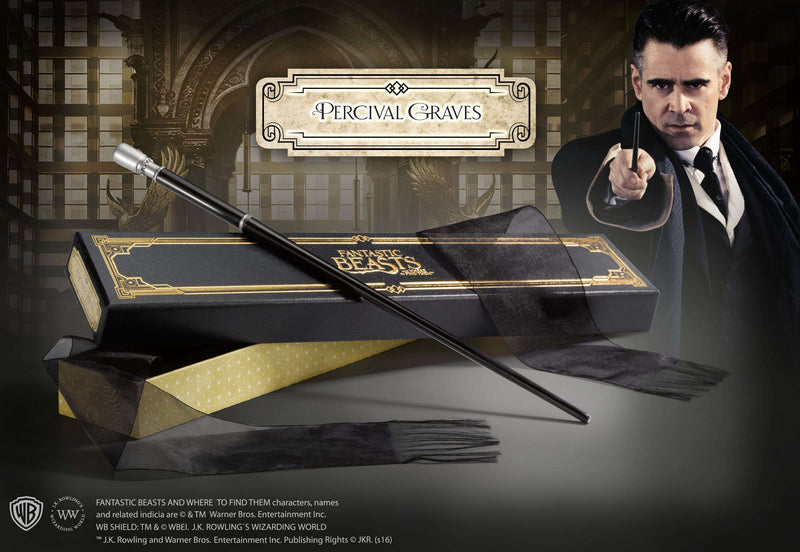 Percival Graves Wand in Collector's Box - Olleke | Disney and Harry Potter Merchandise shop