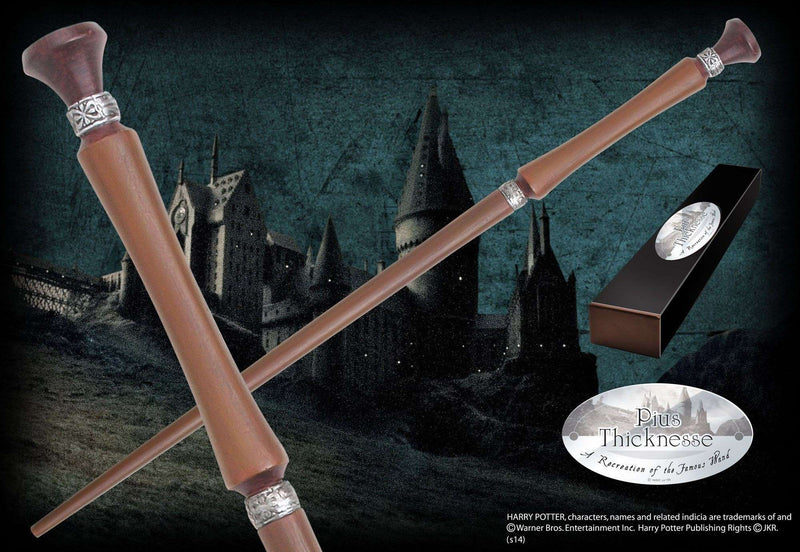 Pius Thicknesse Character Wand - Olleke | Disney and Harry Potter Merchandise shop