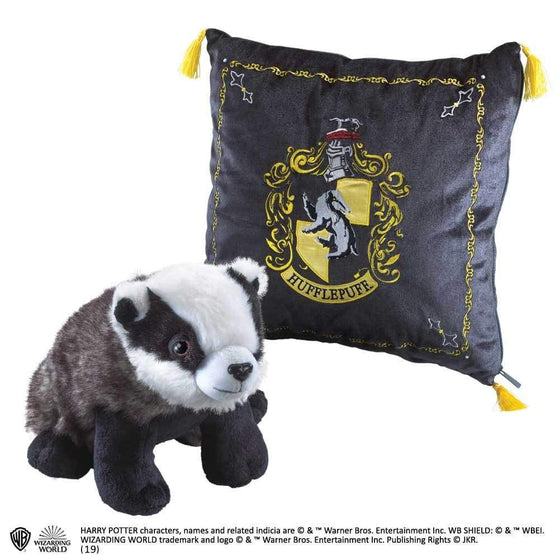 Films & Series - Plush Hufflepuff House Mascot & Cushion