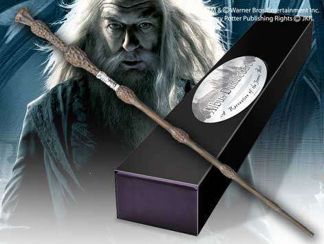 Professor Albus Dumbledore Character Wand Olleke | Disney and Harry Potter Merchandise shop The Noble Collection