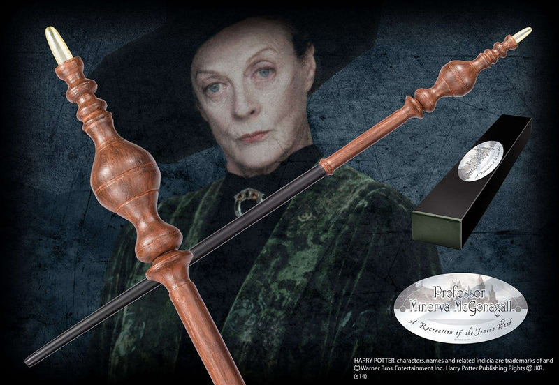 Professor Minerva McGonagall Character Wand - Olleke | Disney and Harry Potter Merchandise shop