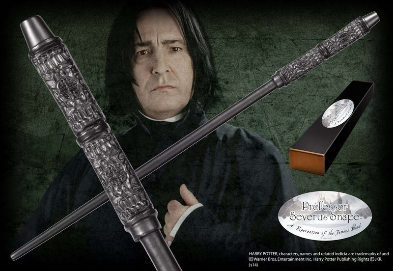 Professor Severus Snape Character Wand Olleke | Disney and Harry Potter Merchandise shop The Noble Collection