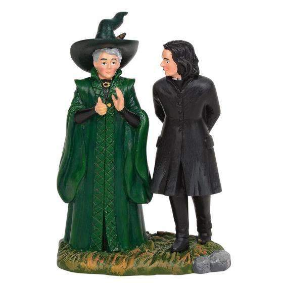 Professor Snape and Professor Minerva McGonagal - Olleke | Disney and Harry Potter Merchandise shop