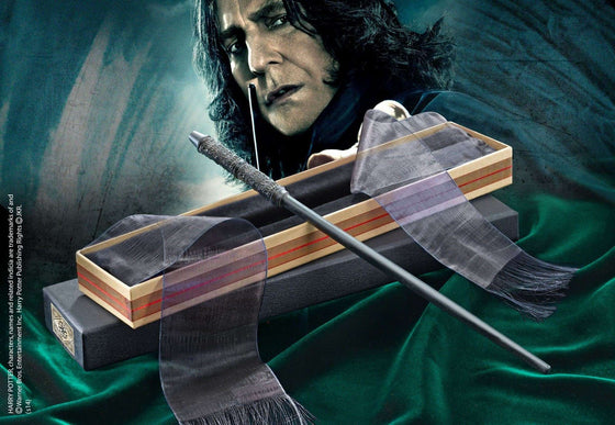 Professor Snape Wand in Ollivanders box Olleke | Disney and Harry Potter Merchandise shop The Noble Collection