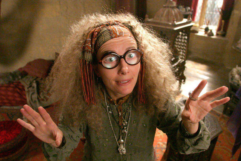 Professor Trelawney Character Wand - Olleke | Disney and Harry Potter Merchandise shop