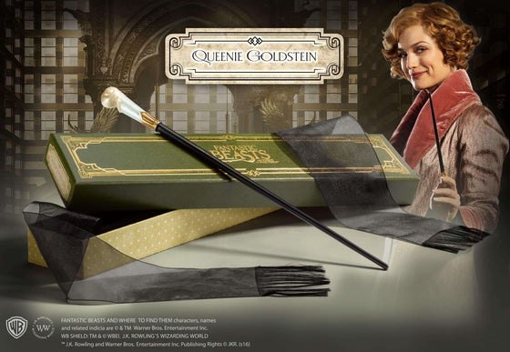 Films & Series - Queenie Goldstein's Wand In Collector's Box
