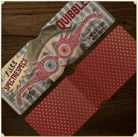 Quibbler Spectrespecs Card Holder Olleke | Disney and Harry Potter Merchandise shop Minalima