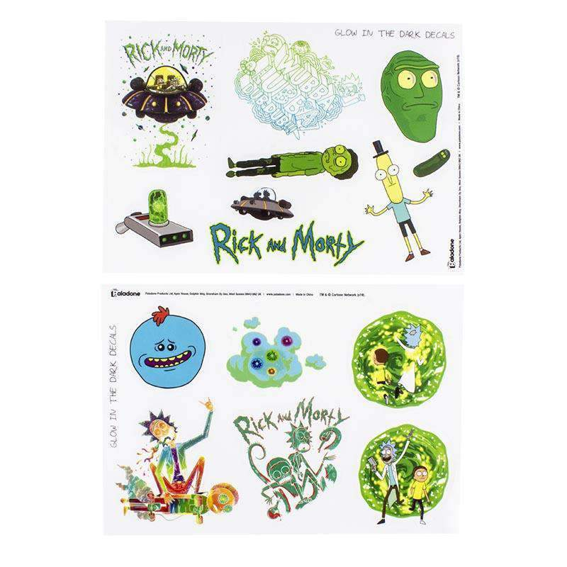 Rick and Morty Gadget Decals - Olleke | Disney and Harry Potter Merchandise shop