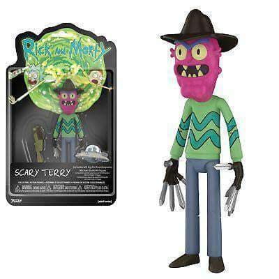 Rick & Morty Action Figure Scary Terry Olleke | Disney and Harry Potter Merchandise shop Funko