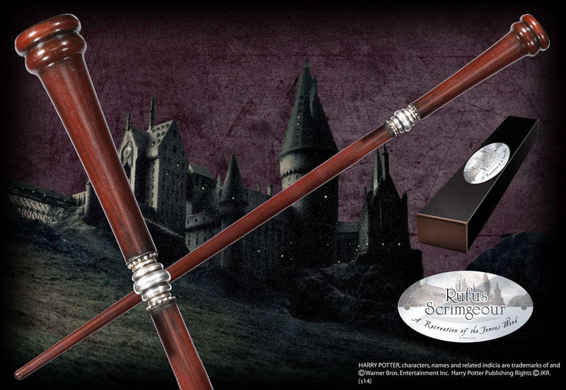 Rufus Scrimgeour Character Wand - Olleke | Disney and Harry Potter Merchandise shop