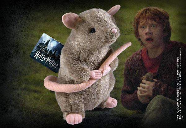 Scabbers Plush - Olleke | Disney and Harry Potter Merchandise shop