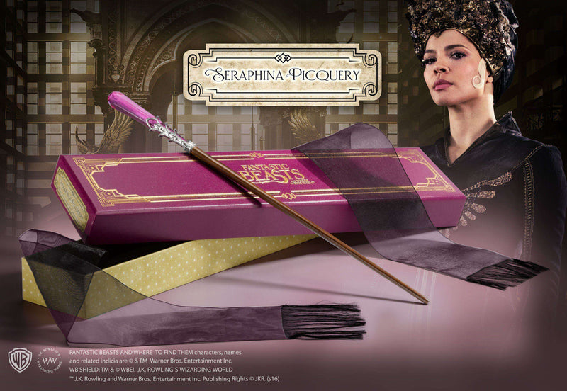 Seraphina Picquery's Wand in Collector's Box - Olleke | Disney and Harry Potter Merchandise shop