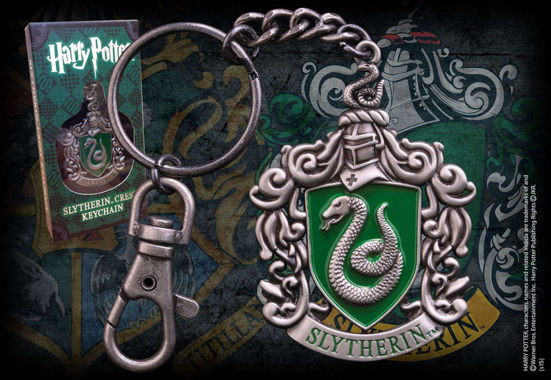 Slytherin Crest Keychain Olleke | Disney and Harry Potter Merchandise shop The Noble Collection