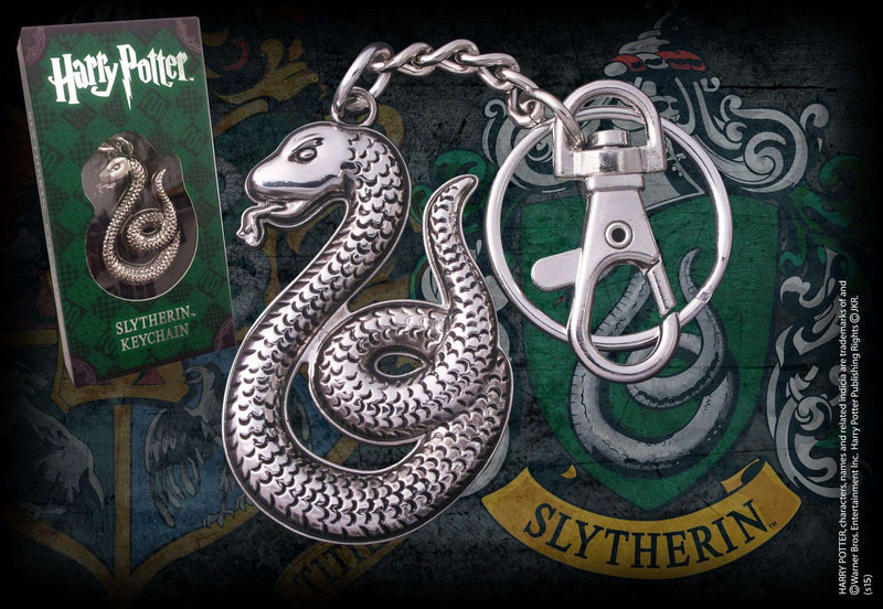 Slytherin Shaped Keychain Olleke | Disney and Harry Potter Merchandise shop The Noble Collection