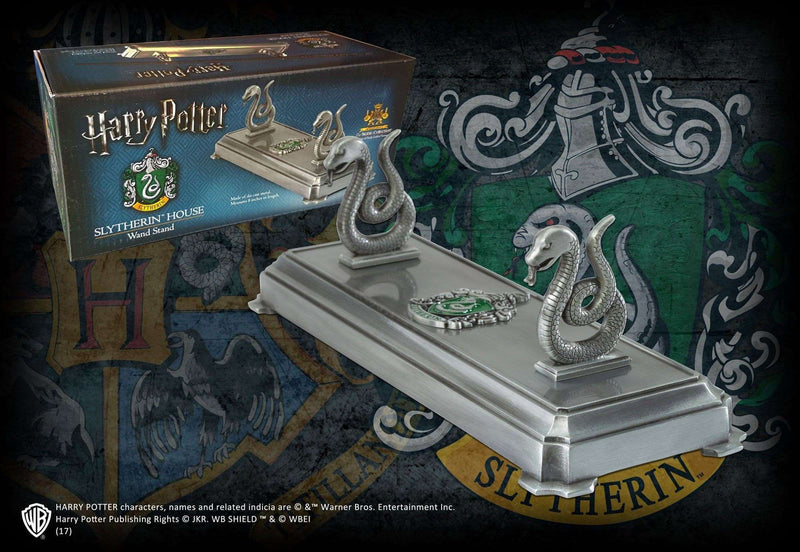 Slytherin Wand Stand - Olleke | Disney and Harry Potter Merchandise shop