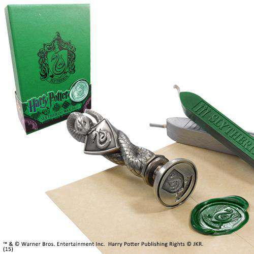 Slytherin Wax Seal Olleke | Disney and Harry Potter Merchandise shop The Noble Collection