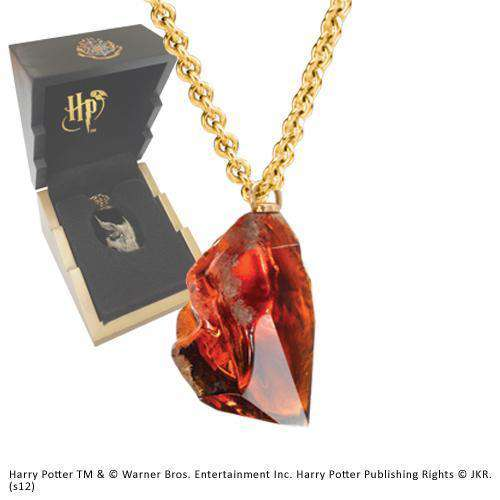 Sorcerer's Stone Pendant Olleke | Disney and Harry Potter Merchandise shop The Noble Collection