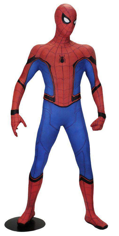 Films & Series - Spider-Man Homecoming Life-Size Statue Spider-Man (Foam Rubber/Latex) 173 Cm