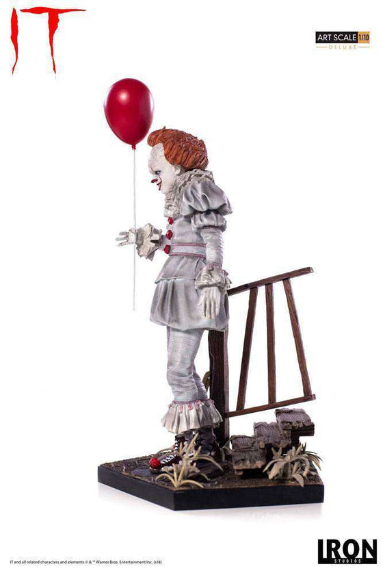 Stephen King's It 2017 Deluxe Art Scale Statue 1/10 Pennywise 25 cm Olleke | Disney and Harry Potter Merchandise shop vendor-unknown