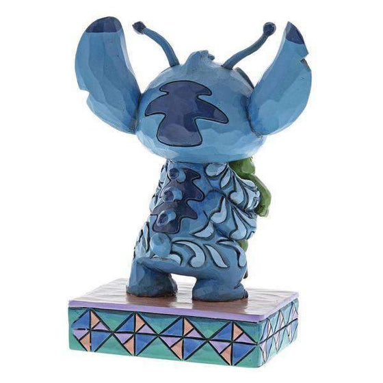 Strange Life-Forms - Stitch with Frog Figurine Olleke | Disney and Harry Potter Merchandise shop Enesco