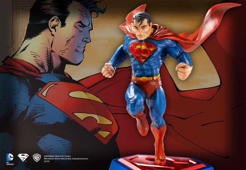 Superman Comic Book Edition Sculpture - Olleke | Disney and Harry Potter Merchandise shop