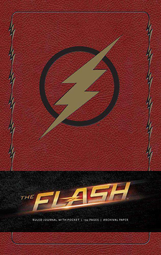 Films & Series - The Flash Hardcover Ruled Journal Logo
