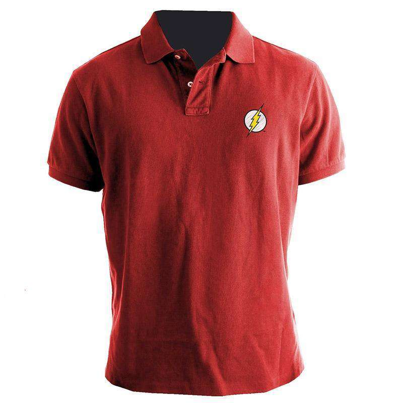 The Flash polo - Olleke | Disney and Harry Potter Merchandise shop