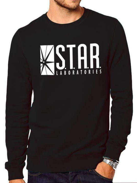 The Flash Star Labs Sweatshirt Olleke | Disney and Harry Potter Merchandise shop DC Comics