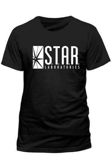 The Flash T-Shirt Star Labs Olleke | Disney and Harry Potter Merchandise shop DC Comics