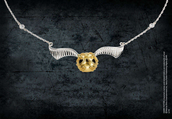 Films & Series - The Golden Snitch Necklace