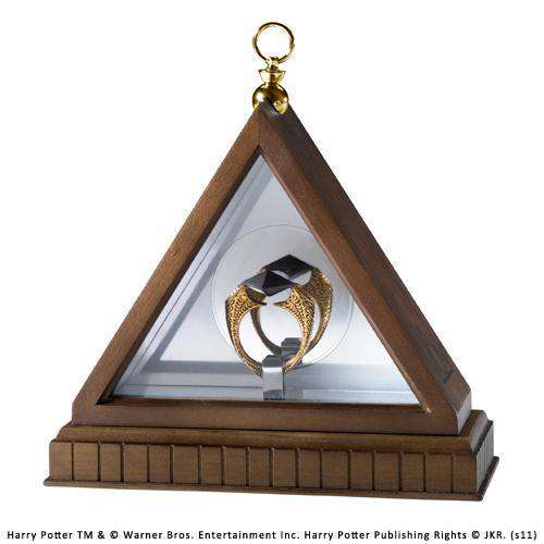 The Horcrux Ring Display Olleke | Disney and Harry Potter Merchandise shop The Noble Collection