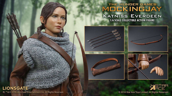 Films & Series - The Hunger Games Catching Fire MFM Action Figure 1/6 Katniss Everdeen Hunting Ver. 30 Cm