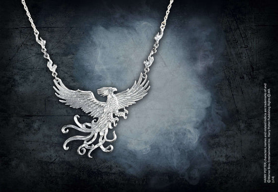 The Phoenix Pendant Olleke | Disney and Harry Potter Merchandise shop The Noble Collection