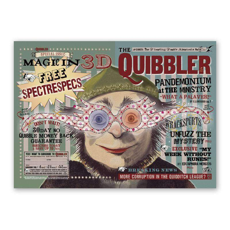 The Quibbler Poster - Olleke | Disney and Harry Potter Merchandise shop