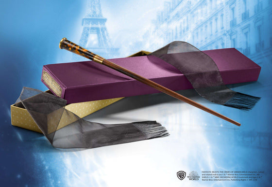 Films & Series - Theseus Scamander's Wand In Collector's Box