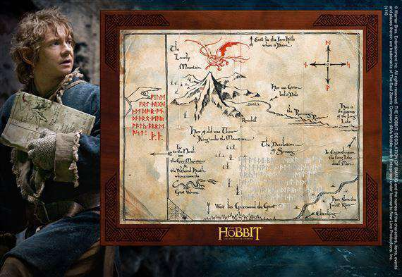 Thorin Oakenshield Map - Olleke | Disney and Harry Potter Merchandise shop