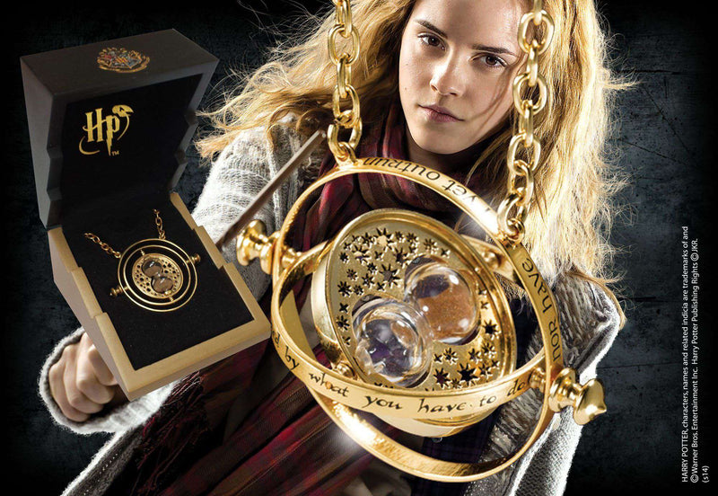 Time Turner – Gold Plated Sterling Silver - Olleke | Disney and Harry Potter Merchandise shop