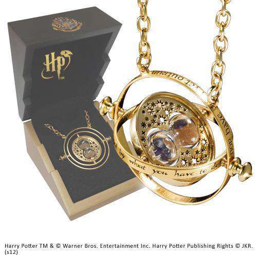 Time Turner – Gold Plated Sterling Silver Olleke | Disney and Harry Potter Merchandise shop The Noble Collection