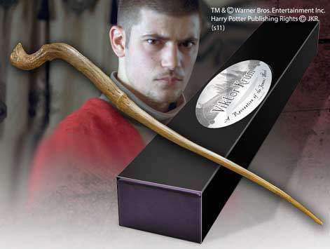 Viktor Krum Character Wand Olleke | Disney and Harry Potter Merchandise shop The Noble Collection