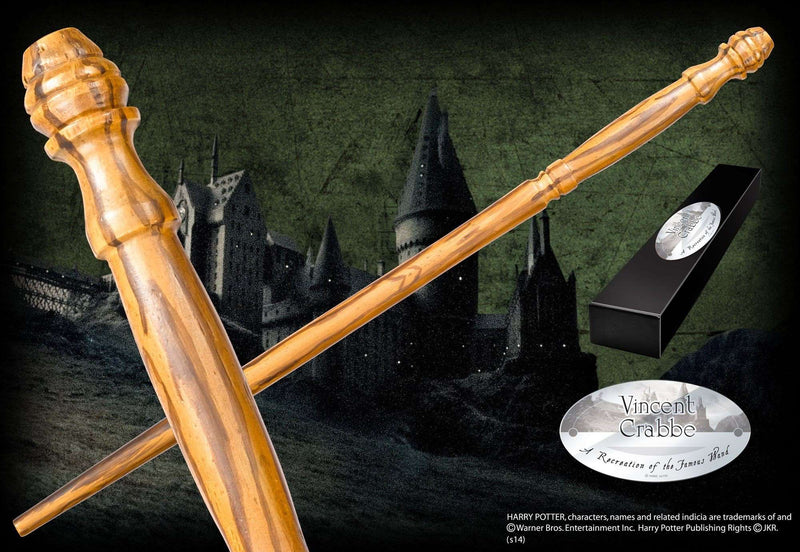 Vincent Crabbe Character Wand - Olleke | Disney and Harry Potter Merchandise shop