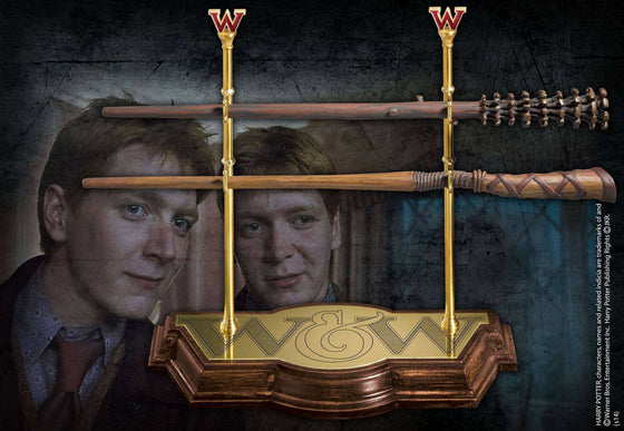 Weasley Wand Collection Olleke | Disney and Harry Potter Merchandise shop The Noble Collection