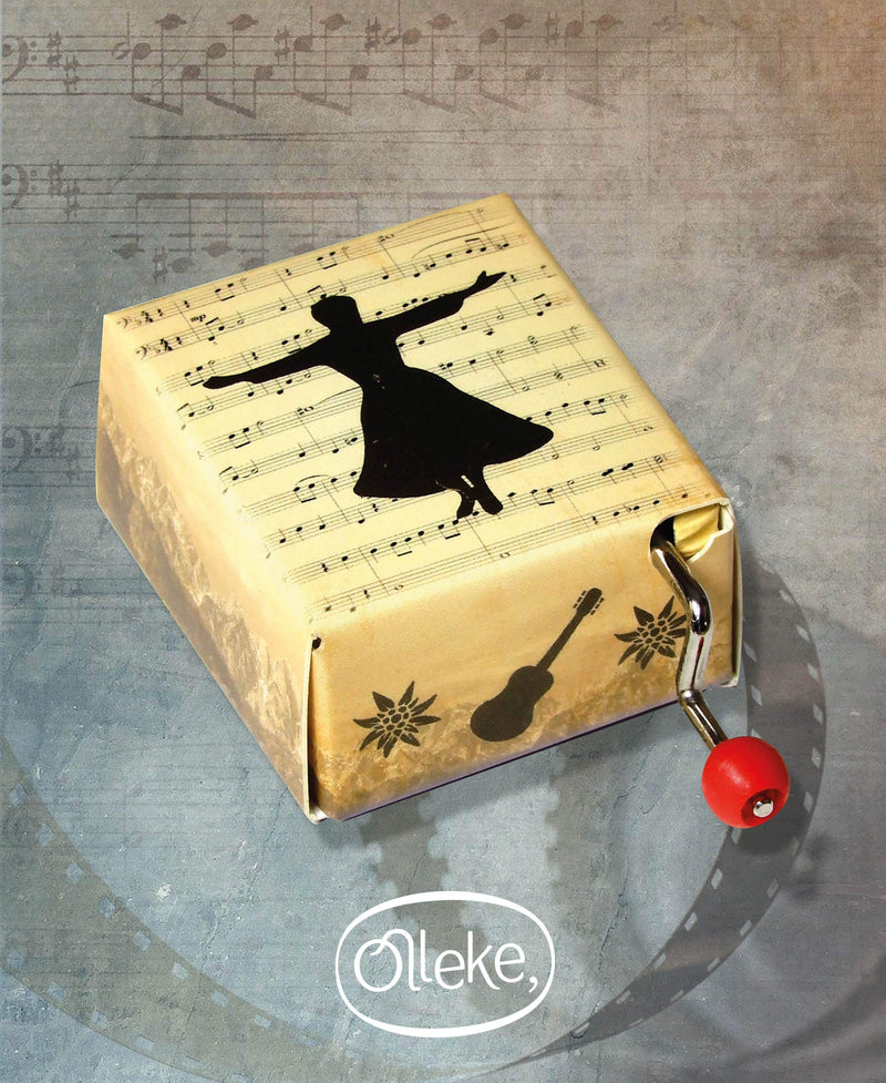 Sound of music hand crank music box - Olleke | Disney and Harry Potter Merchandise shop
