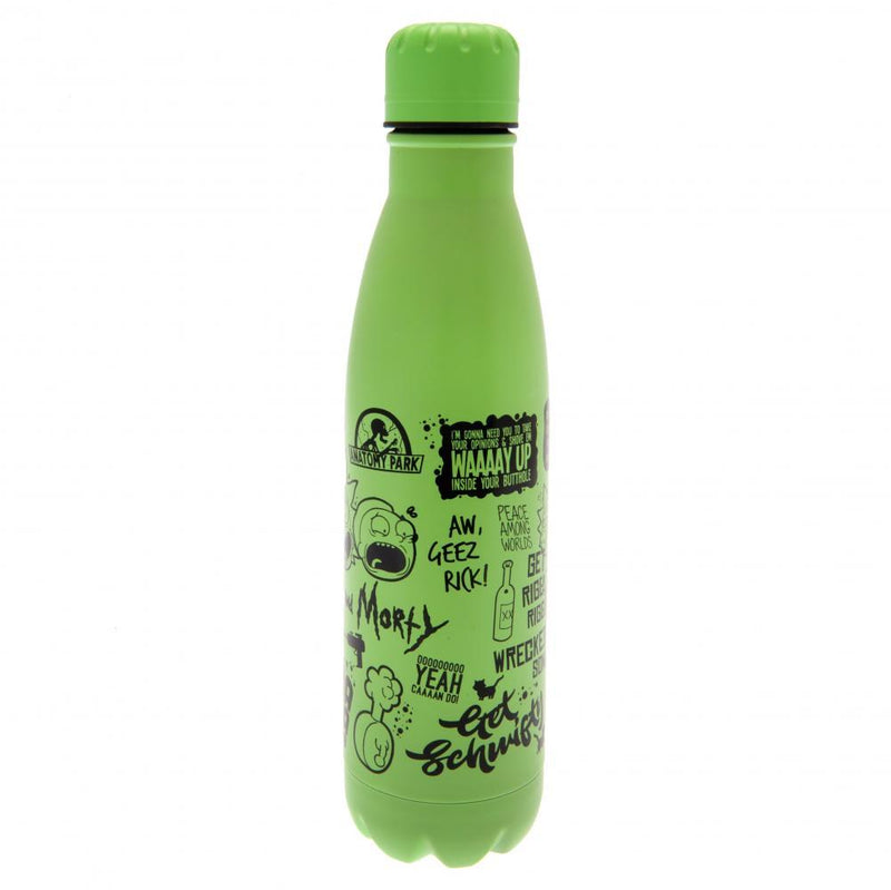 Rick And Morty Thermal Flask - Olleke | Disney and Harry Potter Merchandise shop
