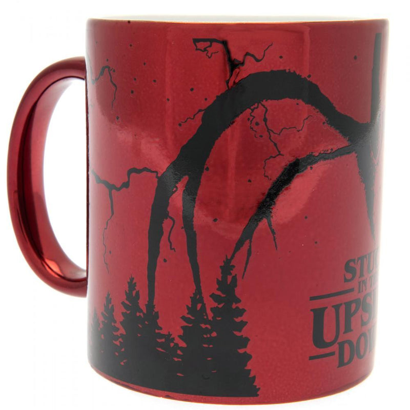 Stranger Things Metallic Mug - Olleke | Disney and Harry Potter Merchandise shop