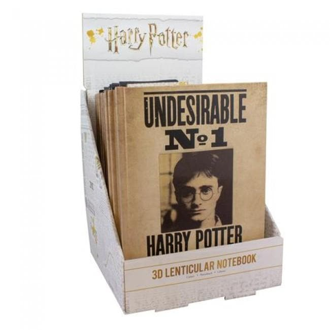 Harry Potter Notebook Harry Potter 3D Lenticular - Olleke | Disney and Harry Potter Merchandise shop