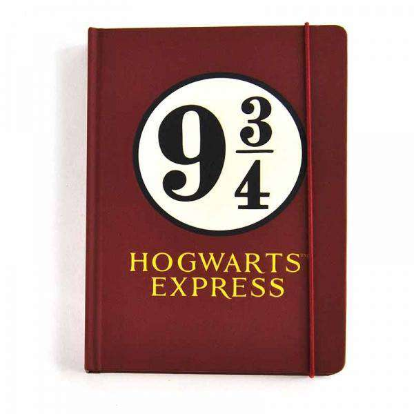 Harry Potter A5 Notebook - Platform 9 3/4 - Olleke | Disney and Harry Potter Merchandise shop