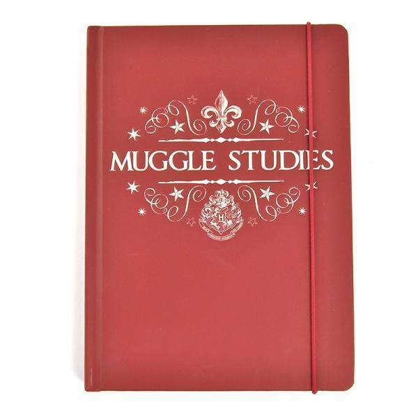 Harry Potter A5 Notebook - Muggle Studies - Olleke | Disney and Harry Potter Merchandise shop