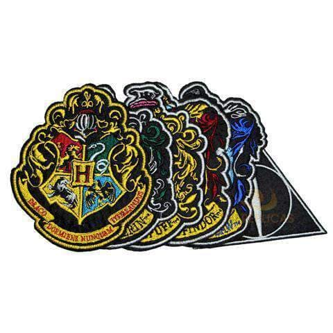 Hogwarts House Crest Iron On Patches Large Olleke | Disney and Harry Potter Merchandise shop Cinéreplicas