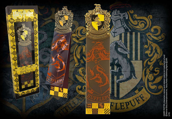 Stationary - Hufflepuff Crest Bookmark
