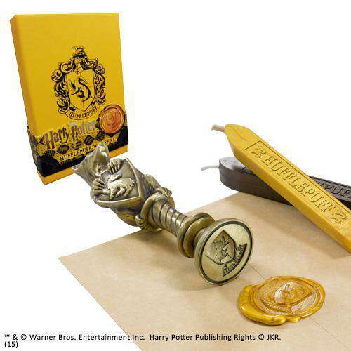 Hufflepuff Wax Seal Olleke | Disney and Harry Potter Merchandise shop The Noble Collection